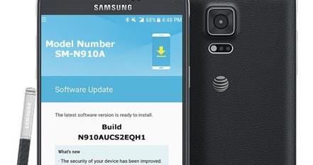 Samsung Galaxy Note 4- AT&T, SM-N910A August 2017 OTA ~ Idea-Tip