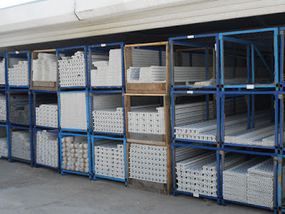 skladiste PVC ramova
