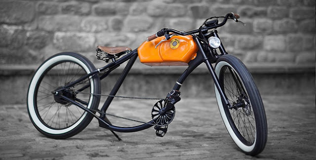 Xe đạp và độ Cafe Racer: Lai ghép không tưởng