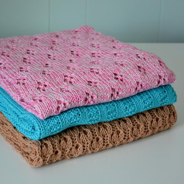 cozy birdhouse | baby blanket trio