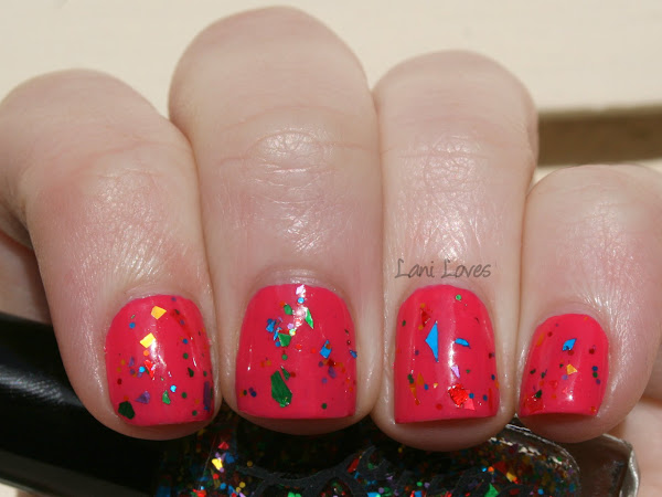PANZ Nail Polish Challenge - Brights, Glitter Gradient and Jelly!