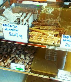 Słodkości z piekarni Złoty Kłos