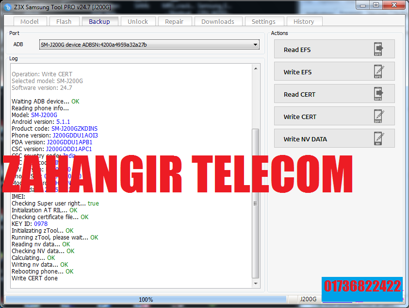 ZAHANGIR TELECOM: SAMSUNG SM-J200G CERT FILE DUAL IMEI