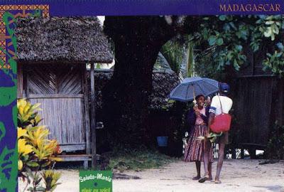 Carte postale ancienne Sainte-Marie Madagascar