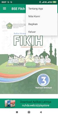 Aplikasi Buku Siswa Fikih Kelas 3 MI Kurikulum 2013 Revisi 2016