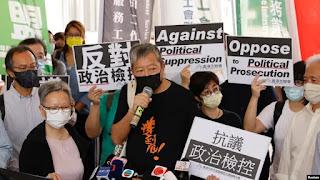 Amerika Kecam China atas Vonis Bersalah Terhadap 7 Aktivis Pro-Demokrasi Hong Kong
