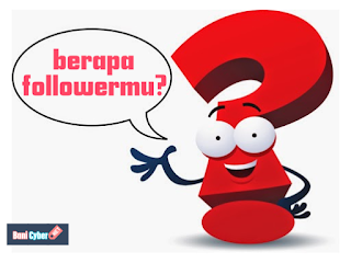 cara mengetahui follower blog