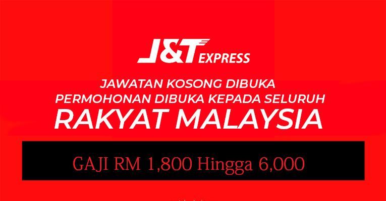 9 Jawatan Kosong J&T Express Untuk Diisi Segera