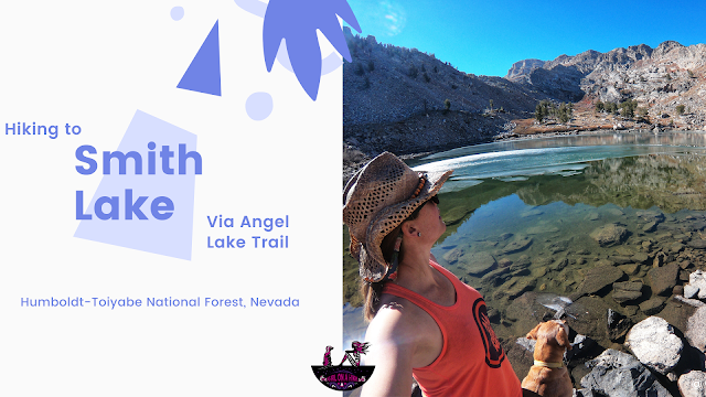 Hiking to Smith Lake via the Angel Lake Trail, Nevada