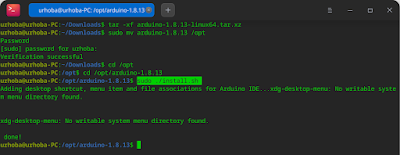 Linux Arduino