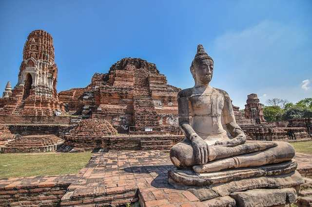 Best Place to Visit in Thailand, Thailand Ayutthaya, Thailand ancient temples