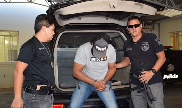 Campeão de luta de braço avareense é preso por tráfico
