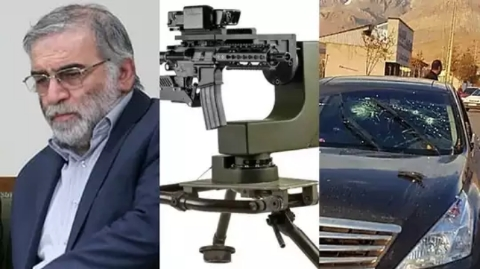 Israel's remote-controlled killer gun suspected of killing Iranian nuclear scientist