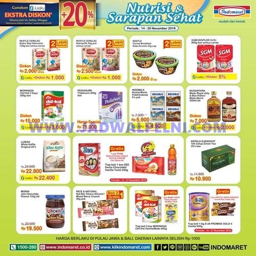 Promo Heboh Indomaret Bulan November 2018