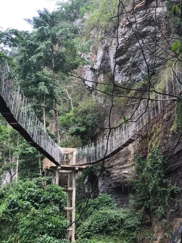 Amedzofe walkway