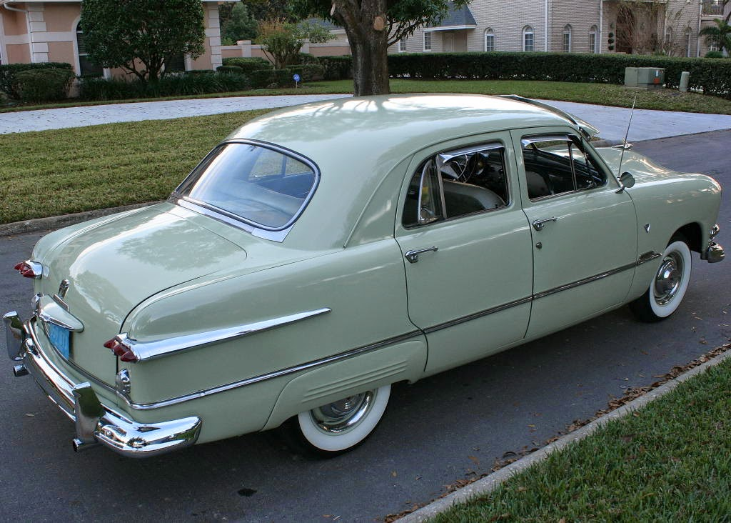 All American Classic Cars: 1951 Ford Custom DeLuxe Fordor