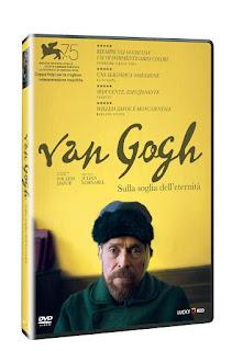 IL COLORE SPIEGATO DA VAN GOGH - FILM SULLA SUGLIA DELL'ETERNITA' - LOCANDINA DEL FILM - BLOG ARTISTAH24