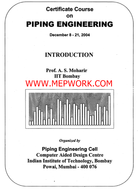 Download Piping Engineering Course Notes Free PDF