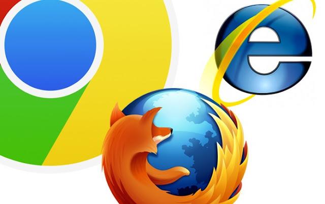 Os navegadores mais utilizados no mundo inteiro