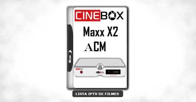 Cinebox Fantasia Maxx X2 ACM Melhorias no IKS Nova Atualização