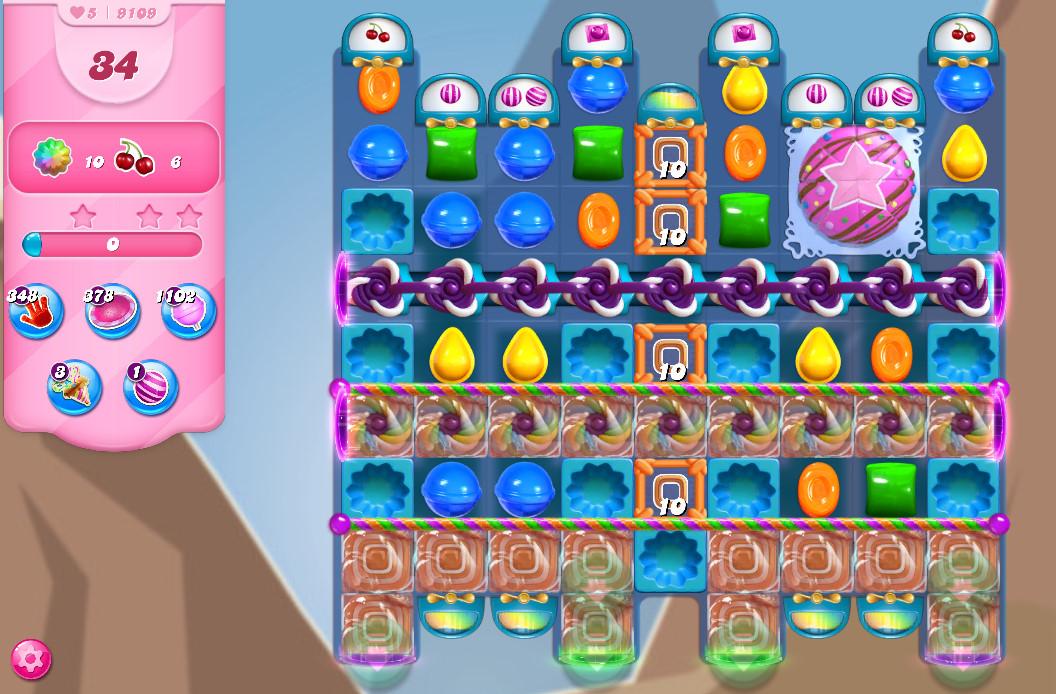 Candy Crush Saga level 8109