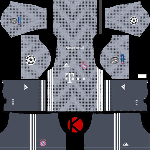 FC Bayern Munich 2018/19 Kit - Dream League Soccer Kits - Kuchalana