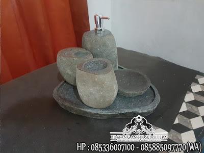 Tempat Sabun Batu Alam, Model Bathroom Set Terlengkap