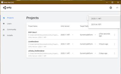 Unity Proje Oluşturma (Oyun Oluşturmak İçin İlk Adım)