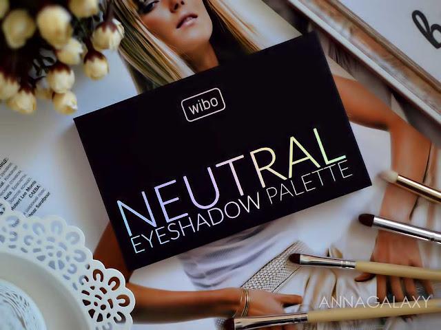 Отзыв на Палетка теней для век Wibo Neutral Eyeshadow Palette