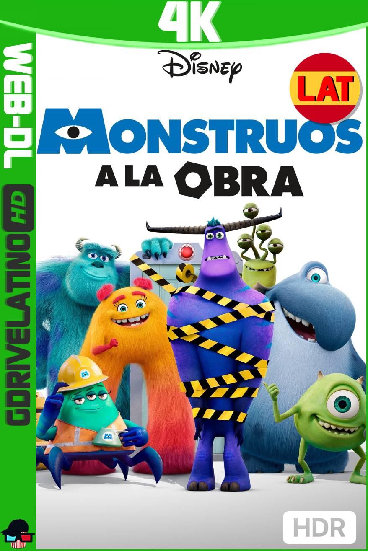 Monstruos a la Obra (2021) Temporada 01 [5/10] WEB-DL 4K HDR Latino-Ingles MKV