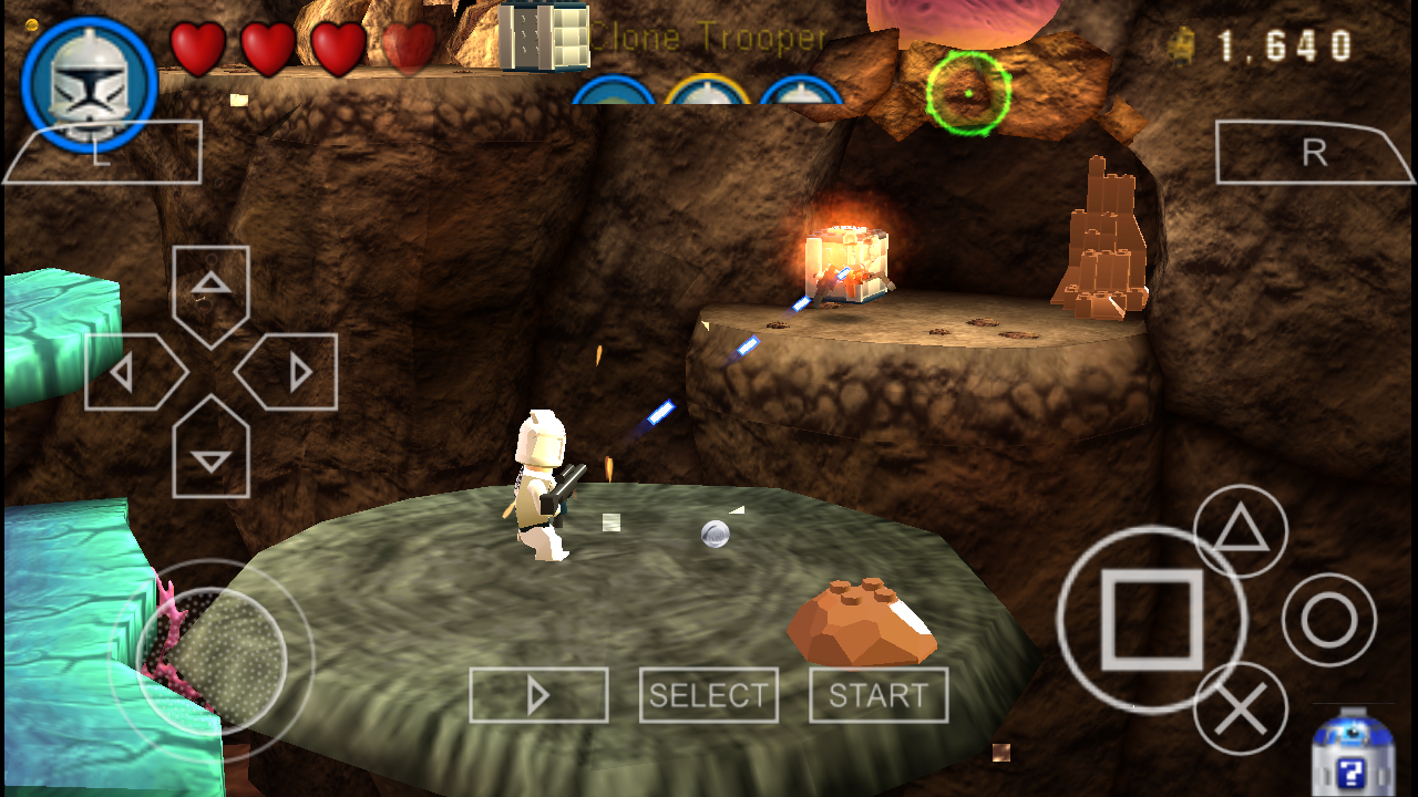 Lego Star Wars III – The Clone Wars PSP ISO for PPSSPP