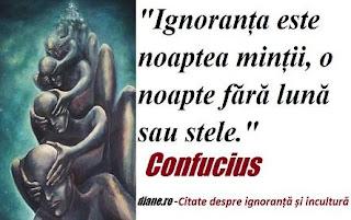 Citate despre ignoranță și incultură