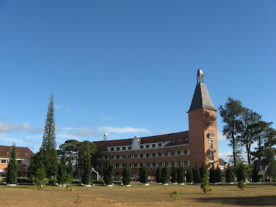 College Pedagogical  of Da Lat - one of 1,000 unique buildings of the world built in the 20th century.