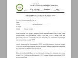 Surat Keterangan Belum Memiliki NPWP Lembaga