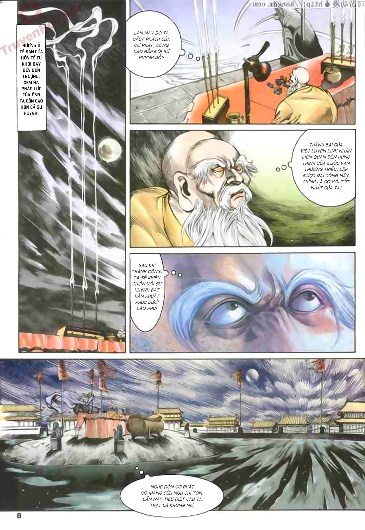 Cơ Phát Khai Chu Bản chapter 79 trang 8