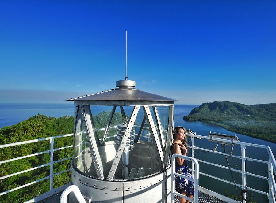 "<a href=""http://mataram.info/things-to-do-in-bali/visitindonesia-banda-marine-life-the-paradise-of-diving-topographic-point-inward-fundamental-maluku/"">Indonesia</a>best destinations : Jailolo Viewing Point: Menara Suar Desa Saria"
