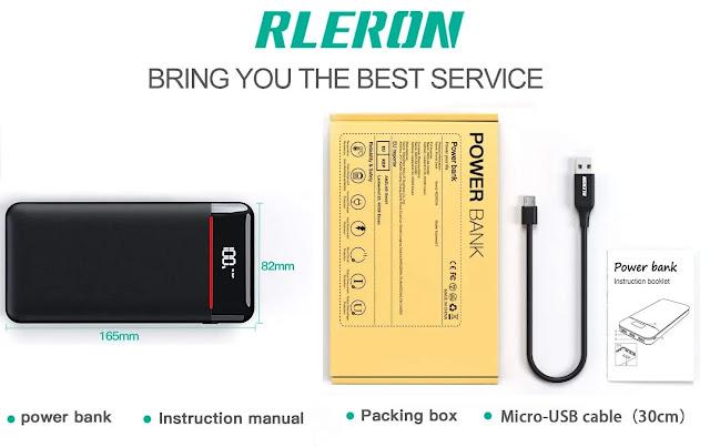 RLERON 25000 mAh Power Bank Review
