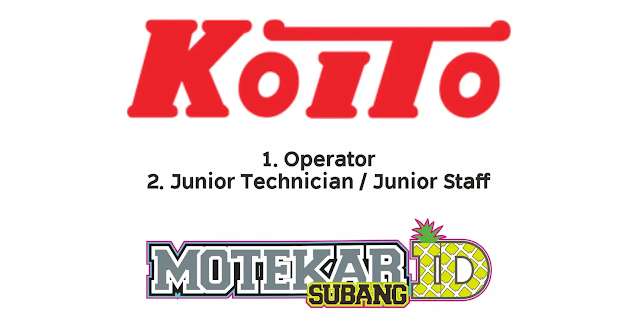 Lowongan Kerja Operator PT Indonesia Koito