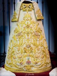 Así es la nueva saya de la Virgen de la Encarnación de Córdoba