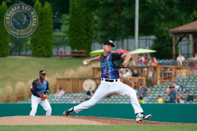 MiLB Photos: GAME 1, Staten Island Yankees @ Tri-City ValleyCats, July 29, 2018, Joseph L. Bruno Stadium, Troy, NY