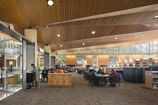 The Alaska State Library Reading Room.