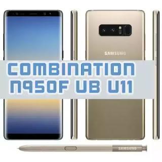 COMBINATION N950F UB U11
