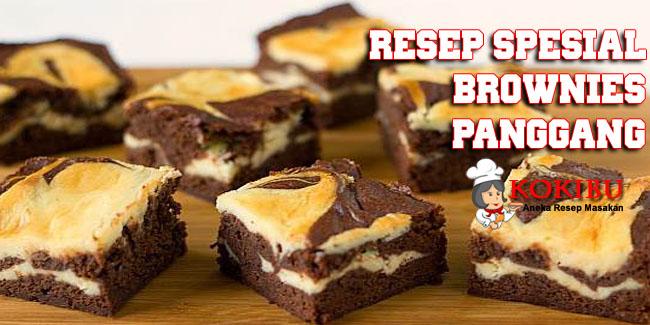 Resep Spesial Brownies Panggang Lembut Dan Nikmat Kokibu