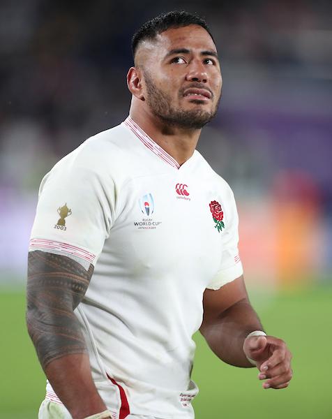 Manu Tuilagi of England