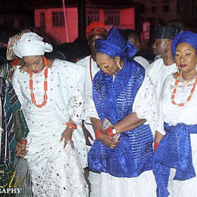 Photos Ooni of Ife Oba Ogunwusi takes new wife prophetess Naomi Shilekunola