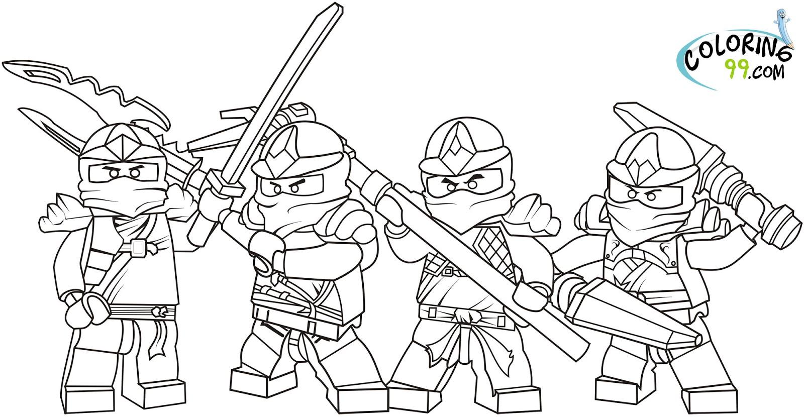 Lego Ausmalbilder Ninjago : Lego Ninjago Coloring Page Democraciaejustica