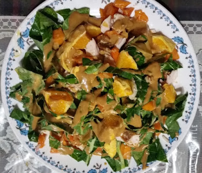 Mom's Collard Salad