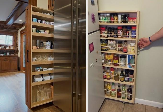 حلول تخزين عملية من أجل المطبخ الصغير