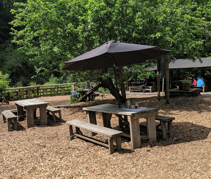Falling Foss Tea Garden (near Whitby) - outdoor seating