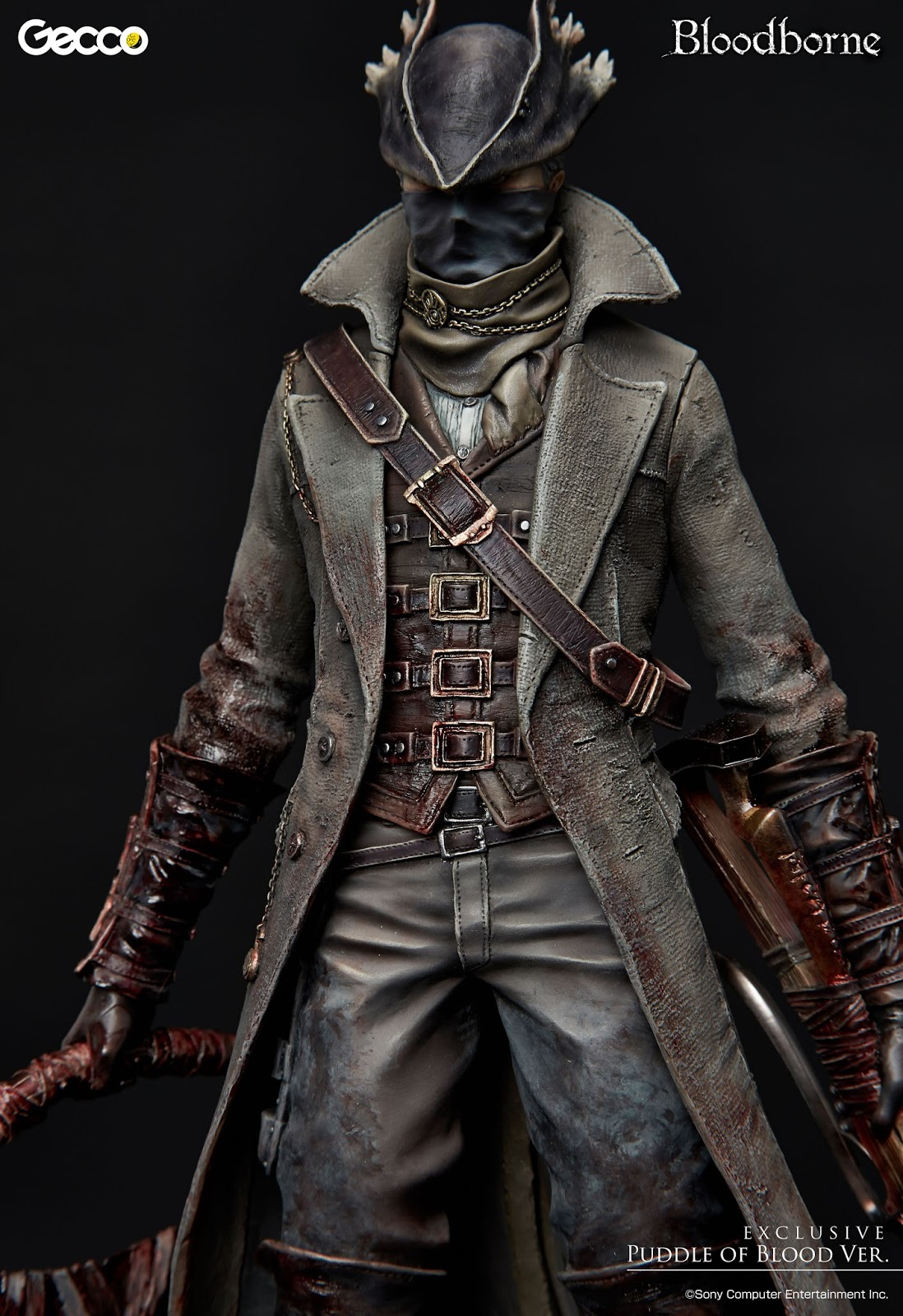 Collecting Toyz: Bloodborne HUNTER Statue by Gecco